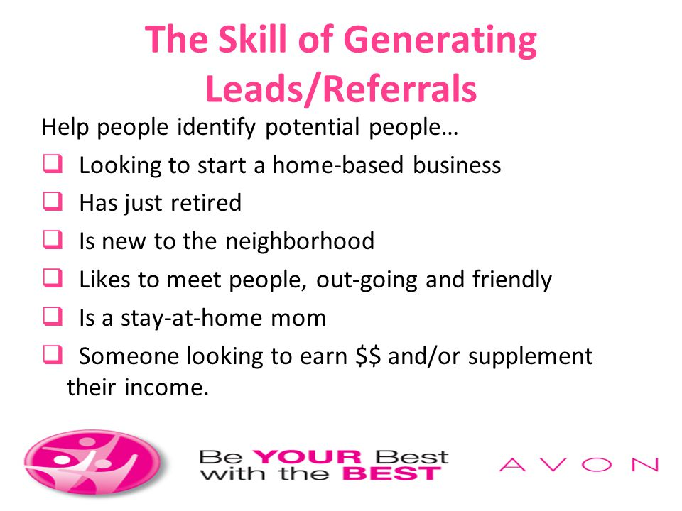 The Skill of Generating Leads/Referrals