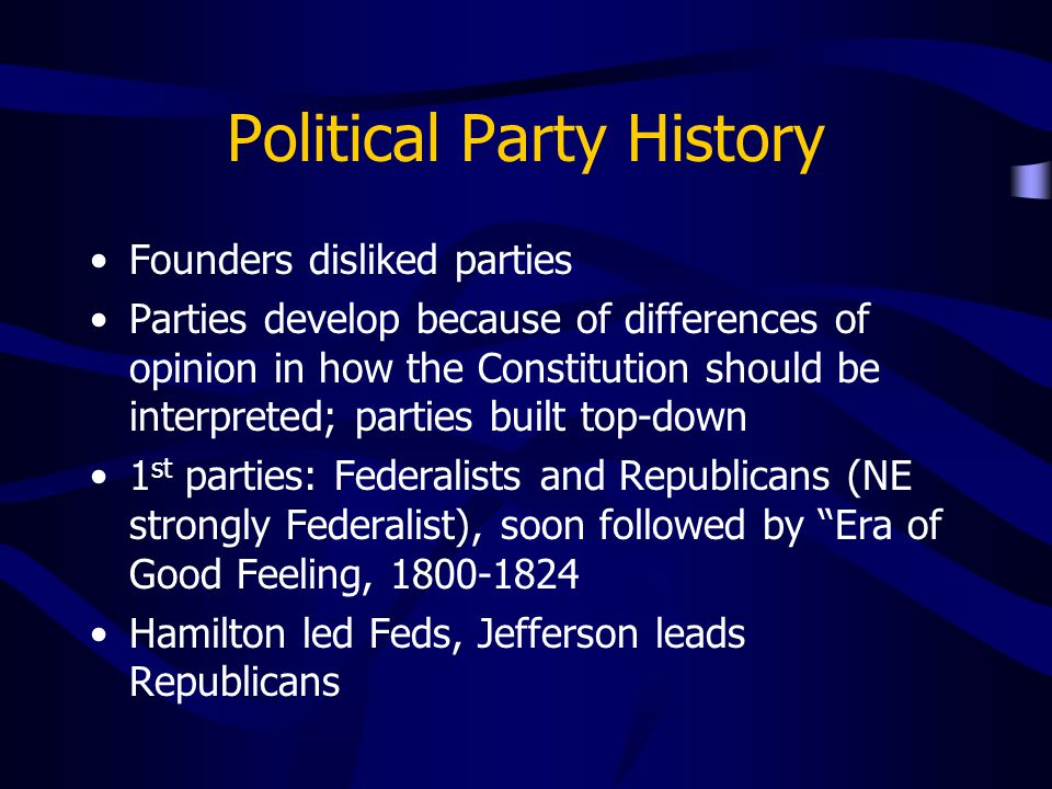 Political Party History