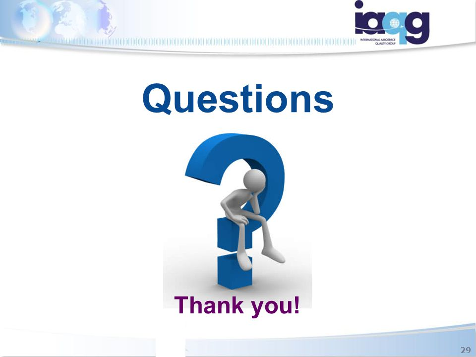 Questions Thank you! 29