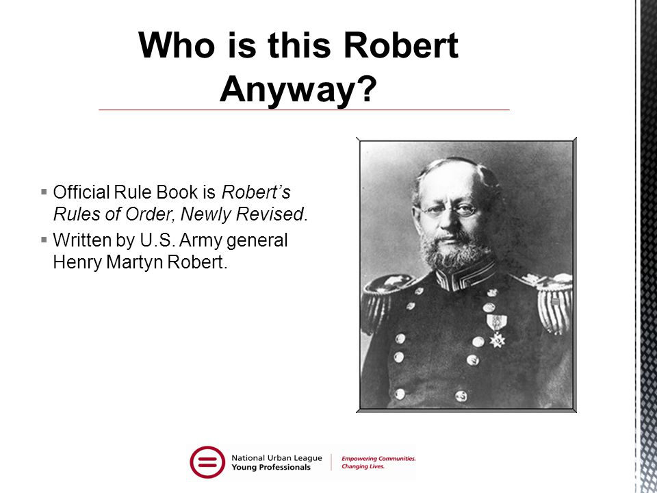 Who is this Robert Anyway