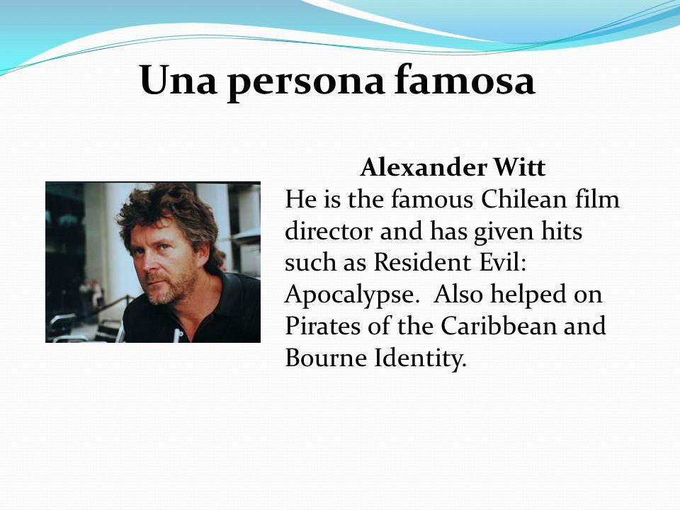 Una persona famosa Alexander Witt