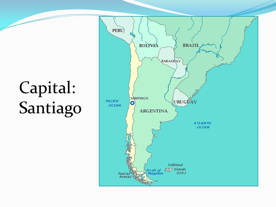 Capital: Santiago Question #2
