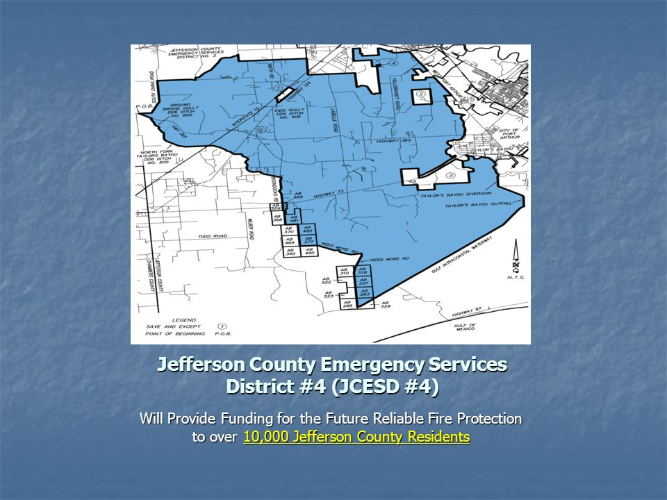 Jefferson County Emergency Services District #4 (JCESD #4)