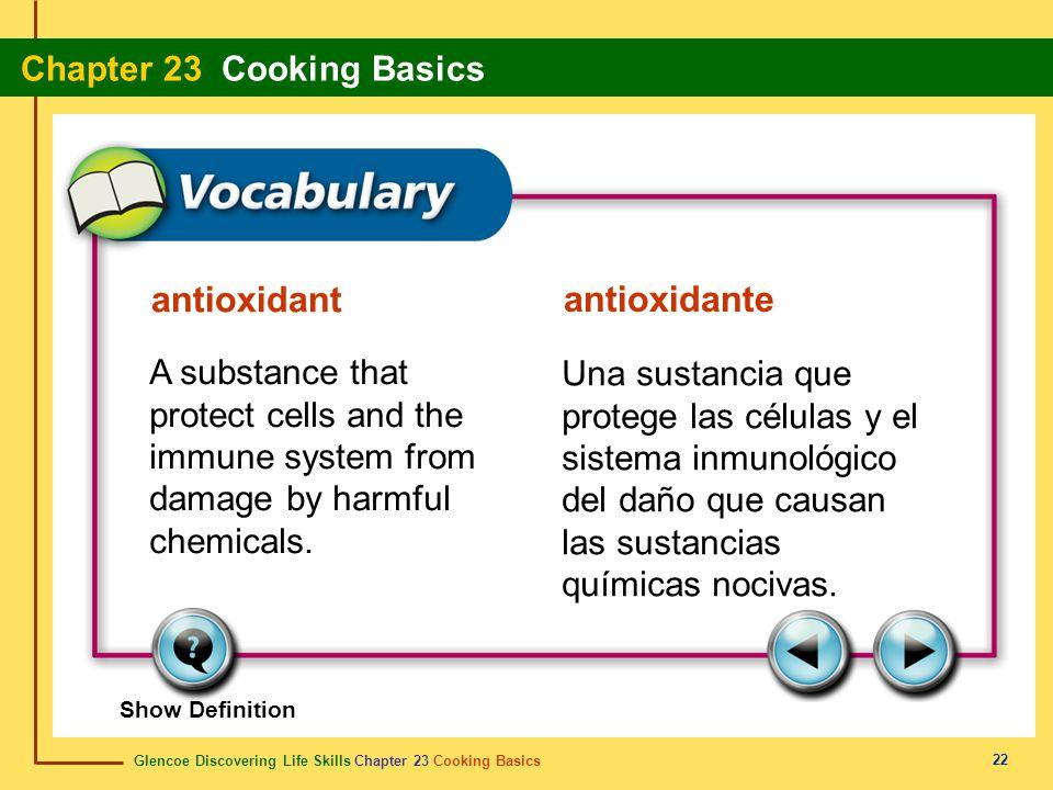 antioxidant antioxidante