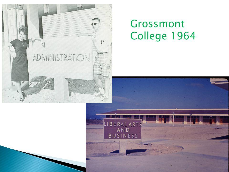 Grossmont College 1964