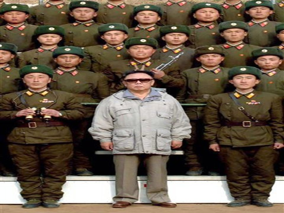 North Korea… Kim Jung-Il and his Workers Party of Korea