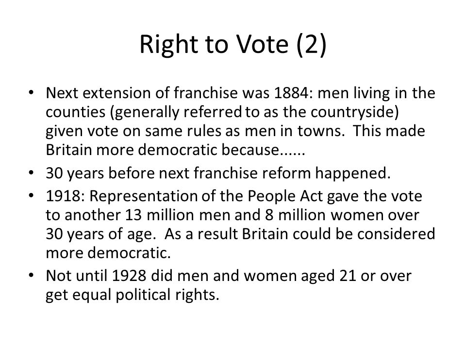 Right to Vote (2)