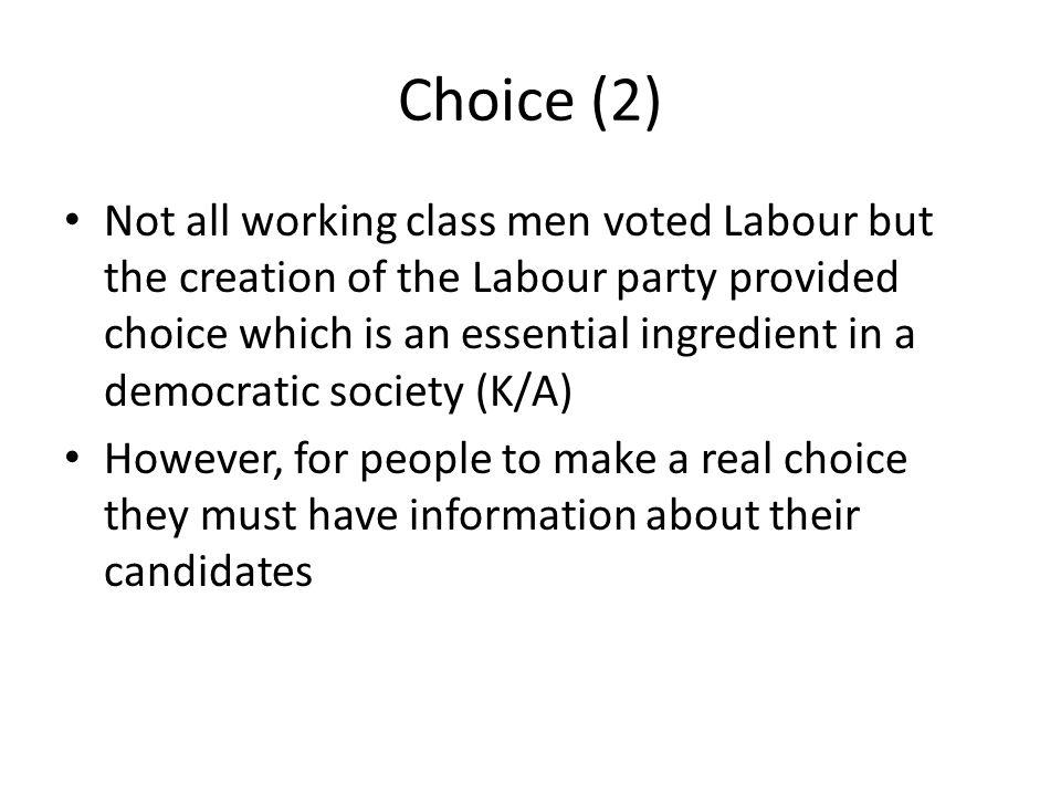 Choice (2)