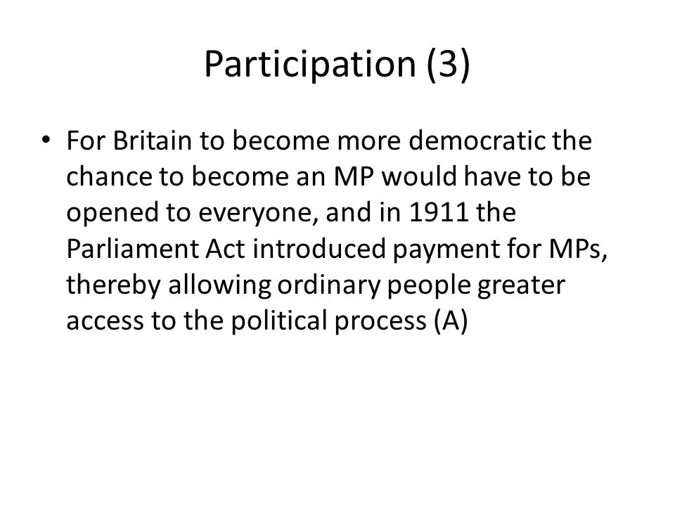 Participation (3)