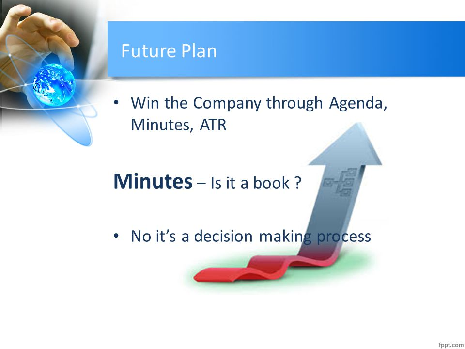 Minutes – Is it a book Future Plan
