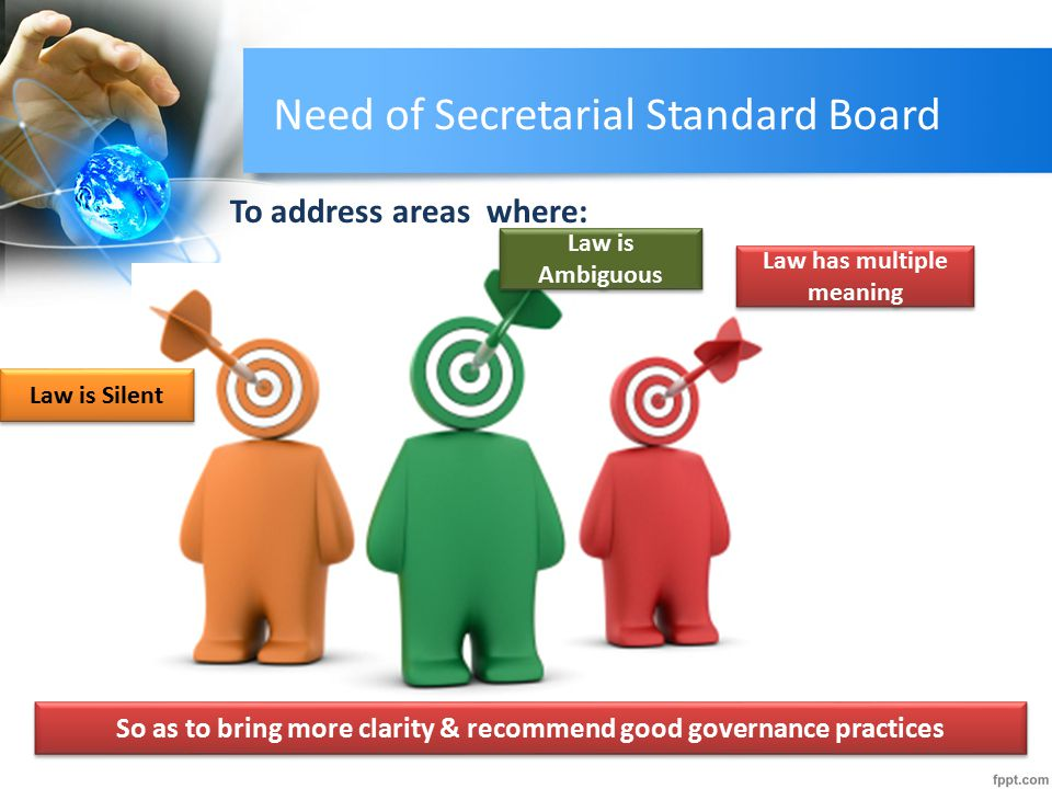 Need of Secretarial Standard Board