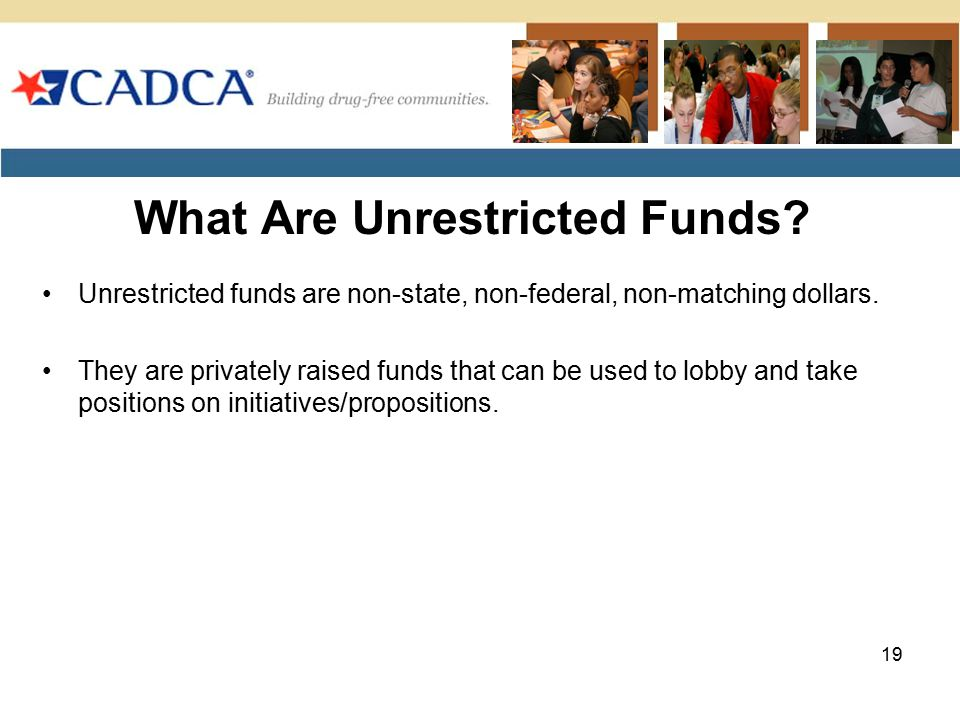 What Are Unrestricted Funds