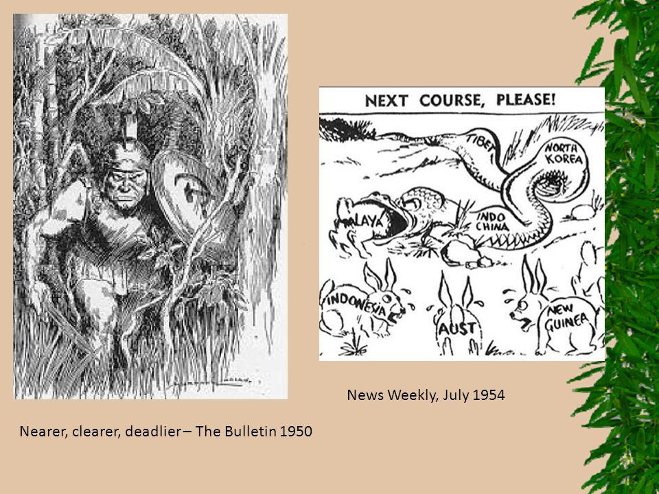 News Weekly, July 1954 Nearer, clearer, deadlier – The Bulletin 1950