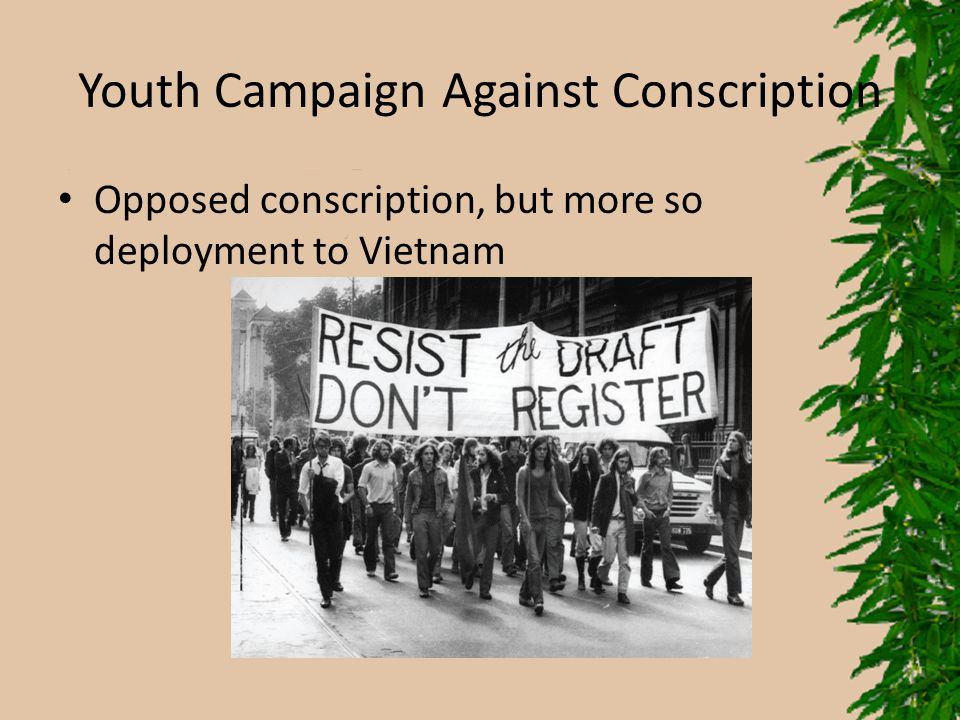 Youth Campaign Against Conscription