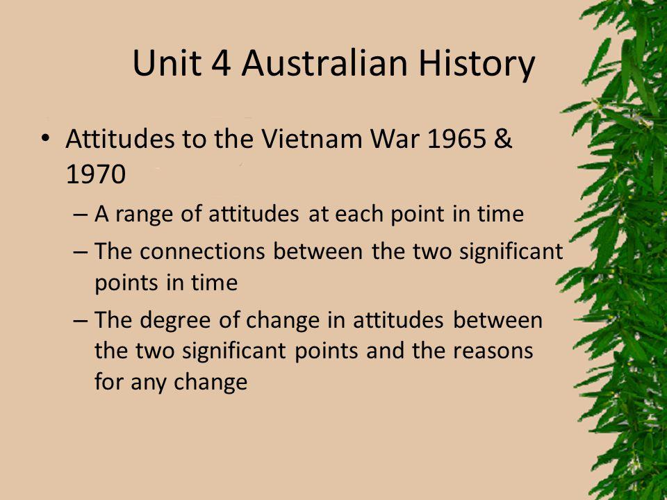 Unit 4 Australian History