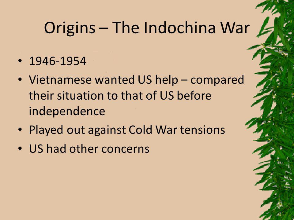 Origins – The Indochina War