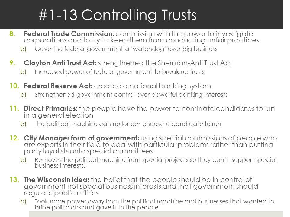 #1-13 Controlling Trusts