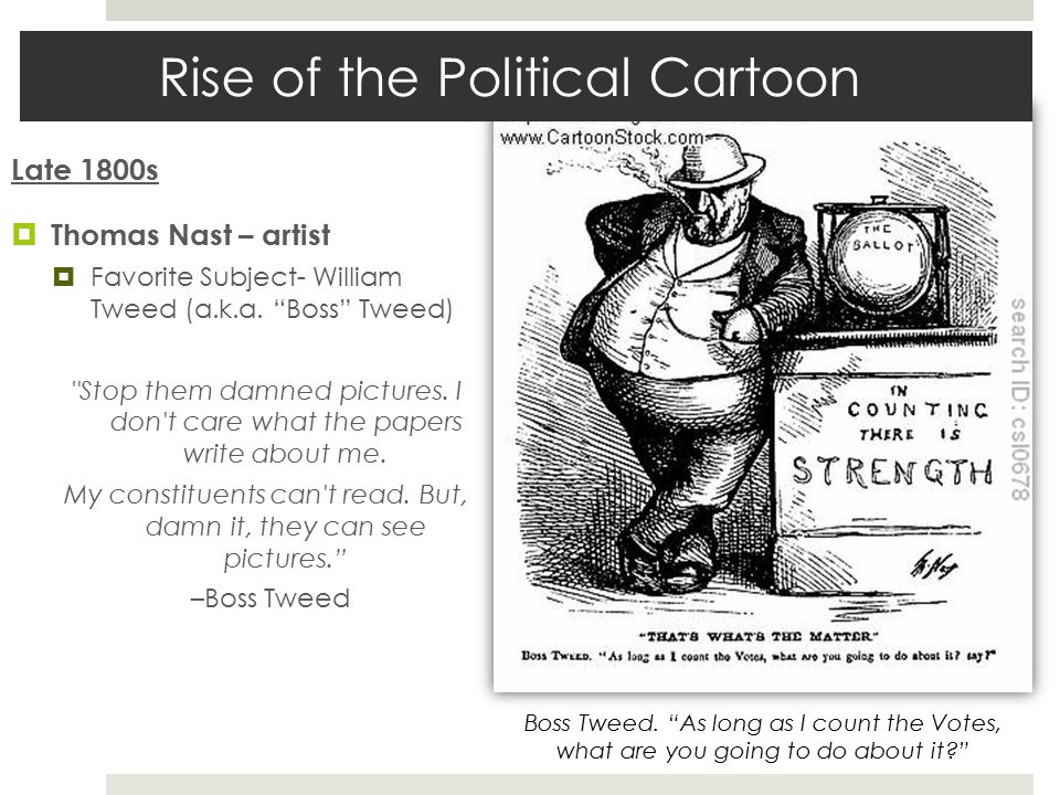 Rise of the Political Cartoon