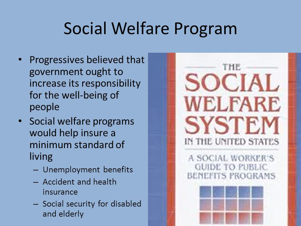 Social Welfare Program