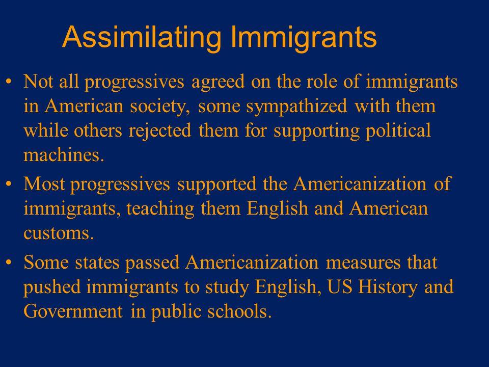 Assimilating Immigrants