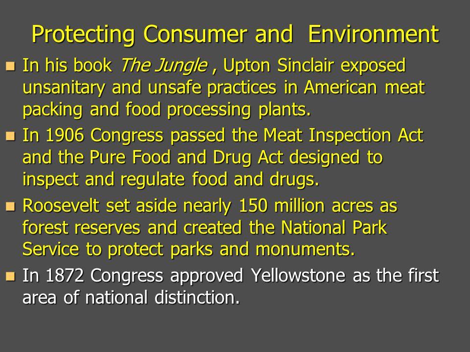Protecting Consumer and Environment