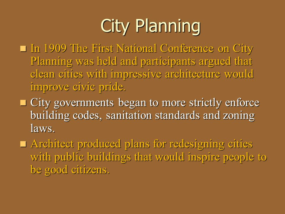 Unit 3 Notes #1-#4 City Planning.