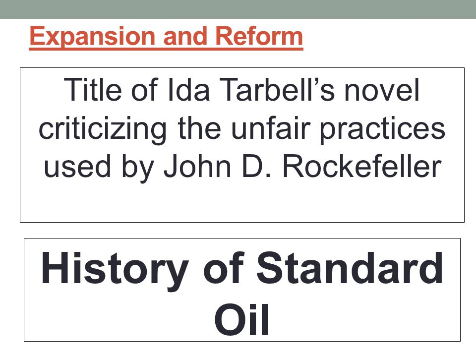 History of Standard Oil