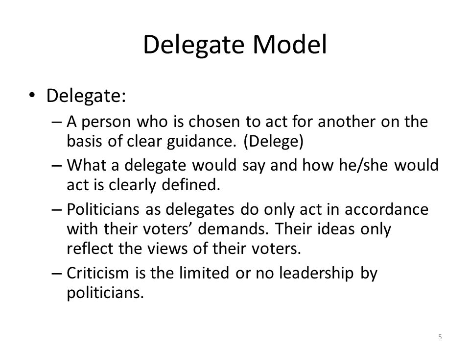 Delegate Model Delegate: