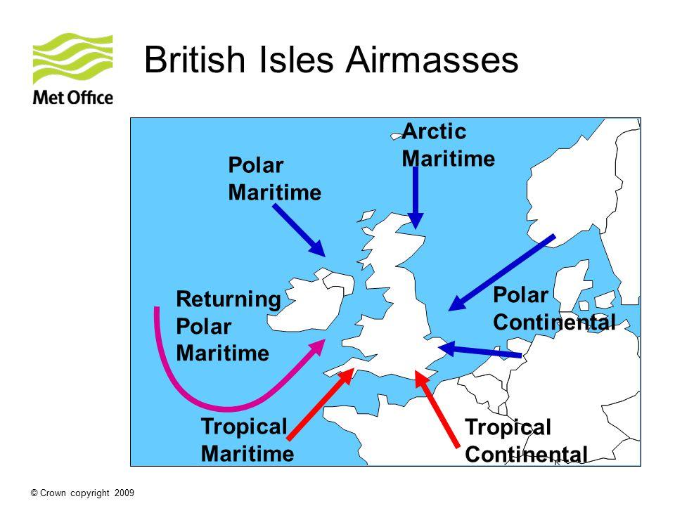 British Isles Airmasses