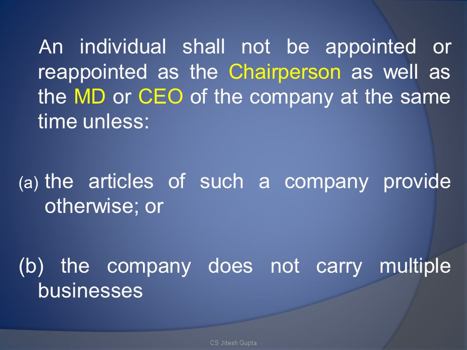 the articles of such a company provide otherwise; or