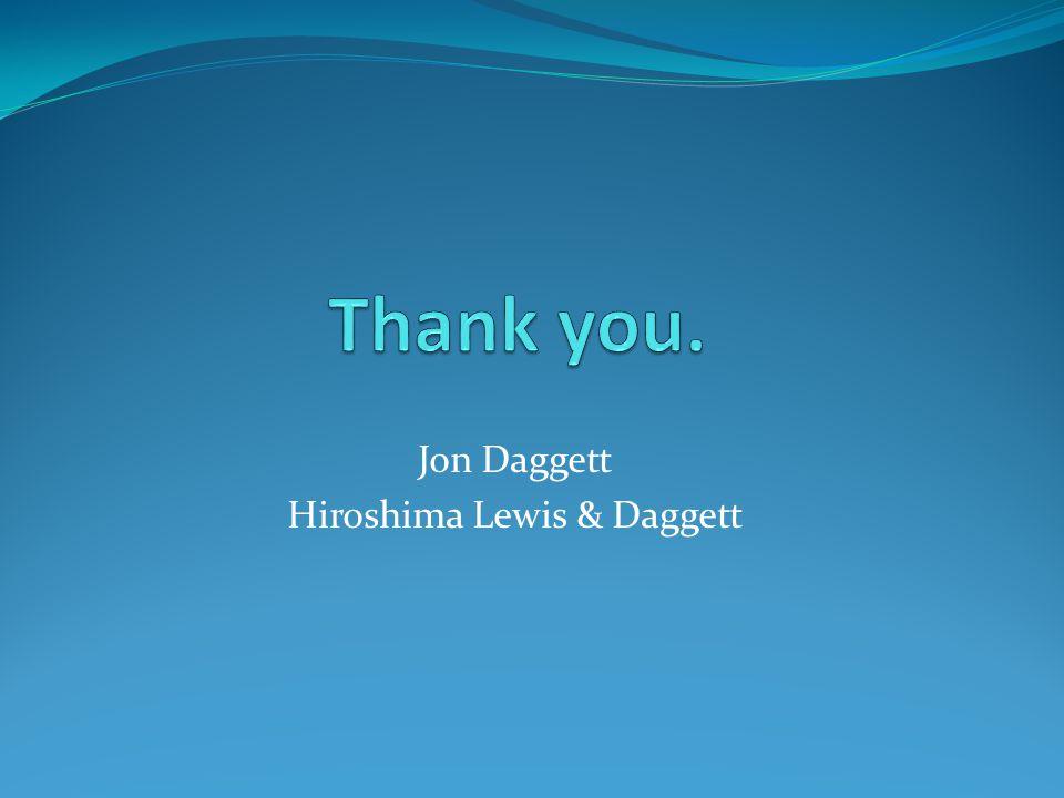 Jon Daggett Hiroshima Lewis & Daggett