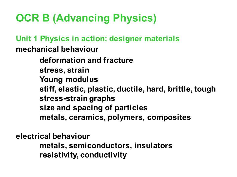 OCR B (Advancing Physics)