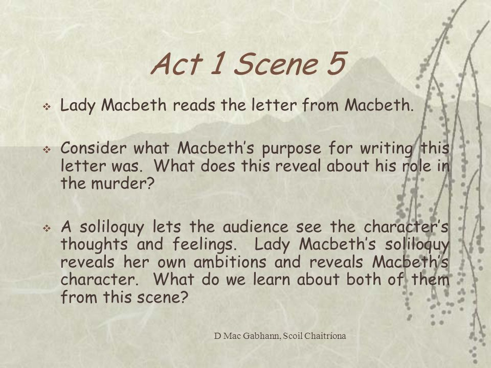 lady macbeth - is lady macbeth responsible for the evils of macbeth? essay Prodded by his ambitious wife, lady macbeth she is motivated by her feelings and uses emotional arguments to persuade her husband to commit the evil essay.