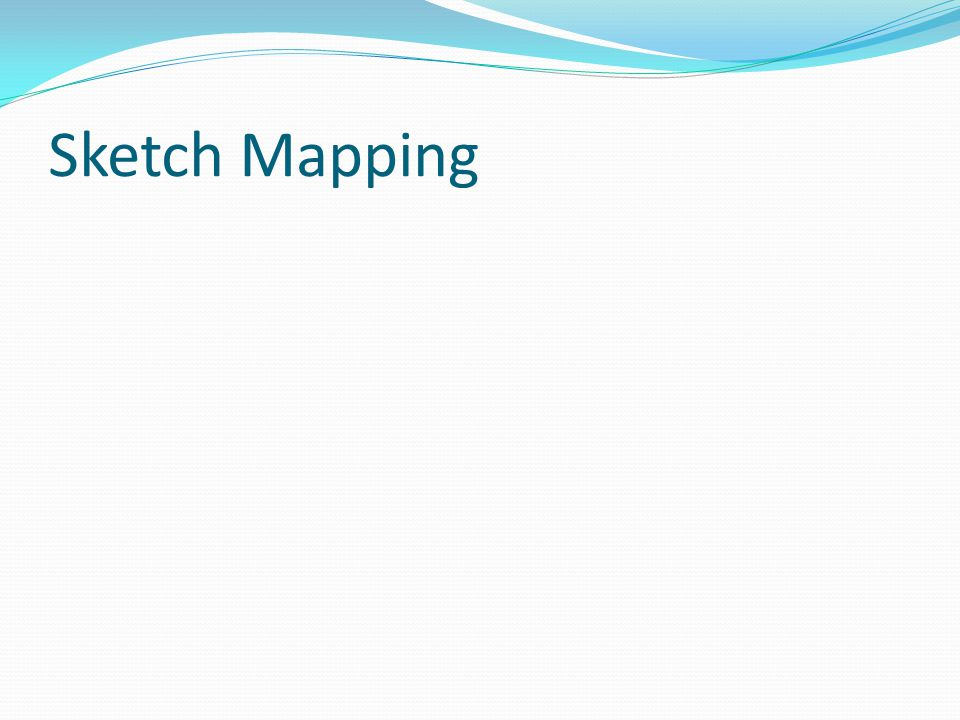 Sketch Mapping