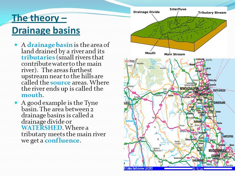The theory – Drainage basins
