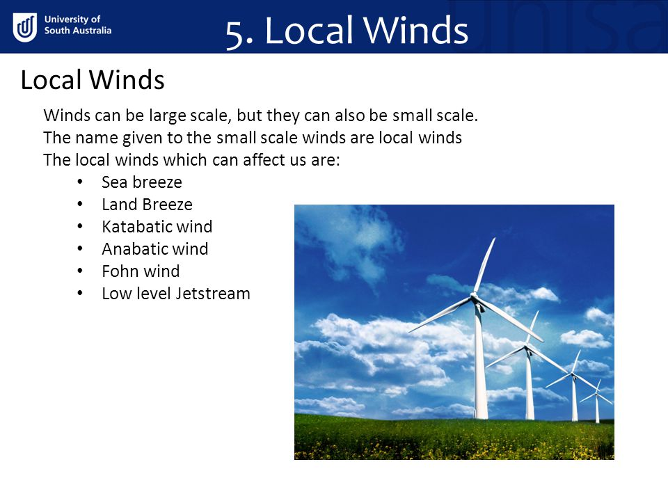 5. Local Winds Local Winds