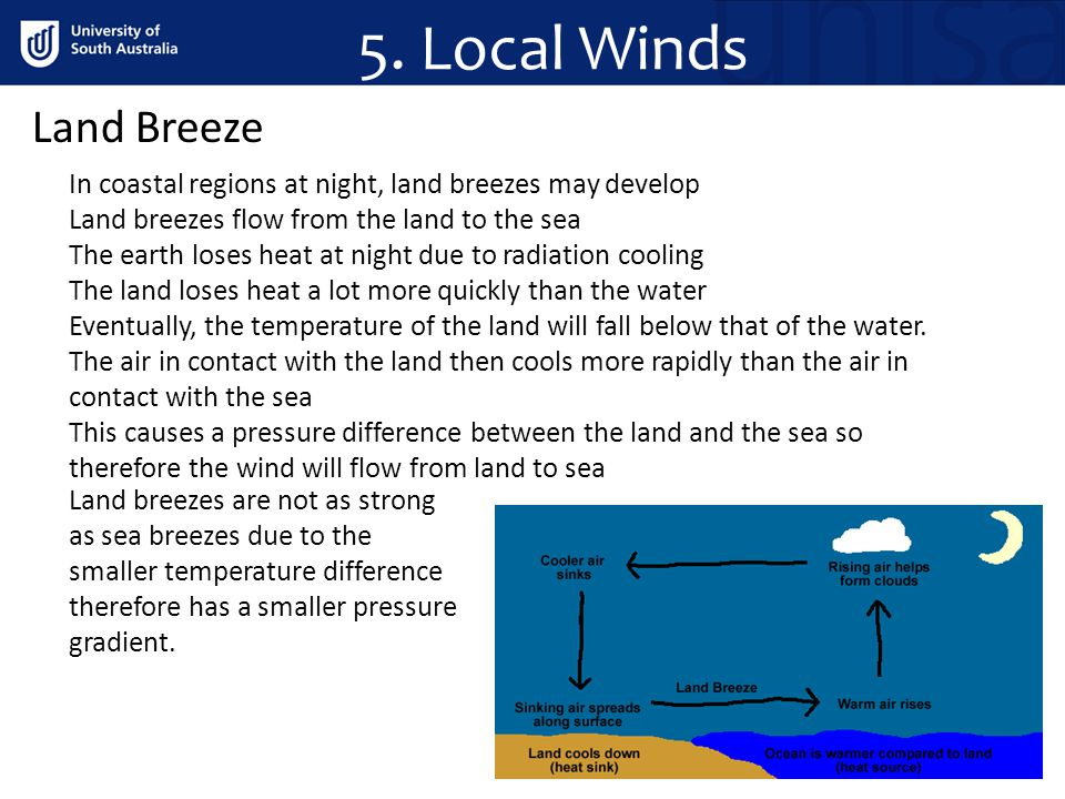5. Local Winds Land Breeze