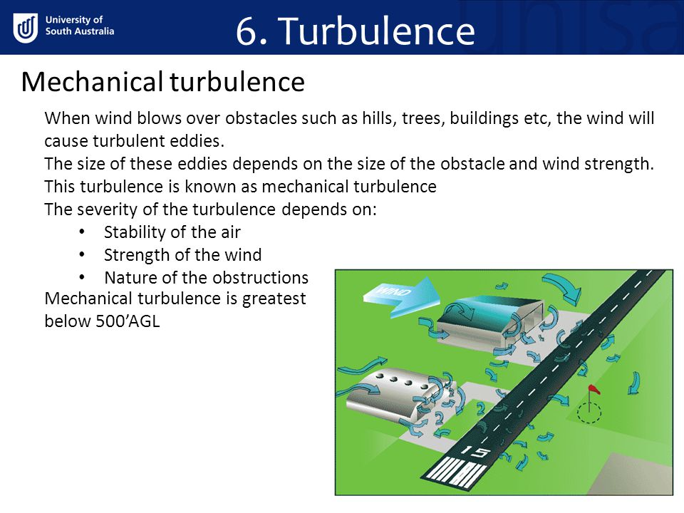 6. Turbulence Mechanical turbulence