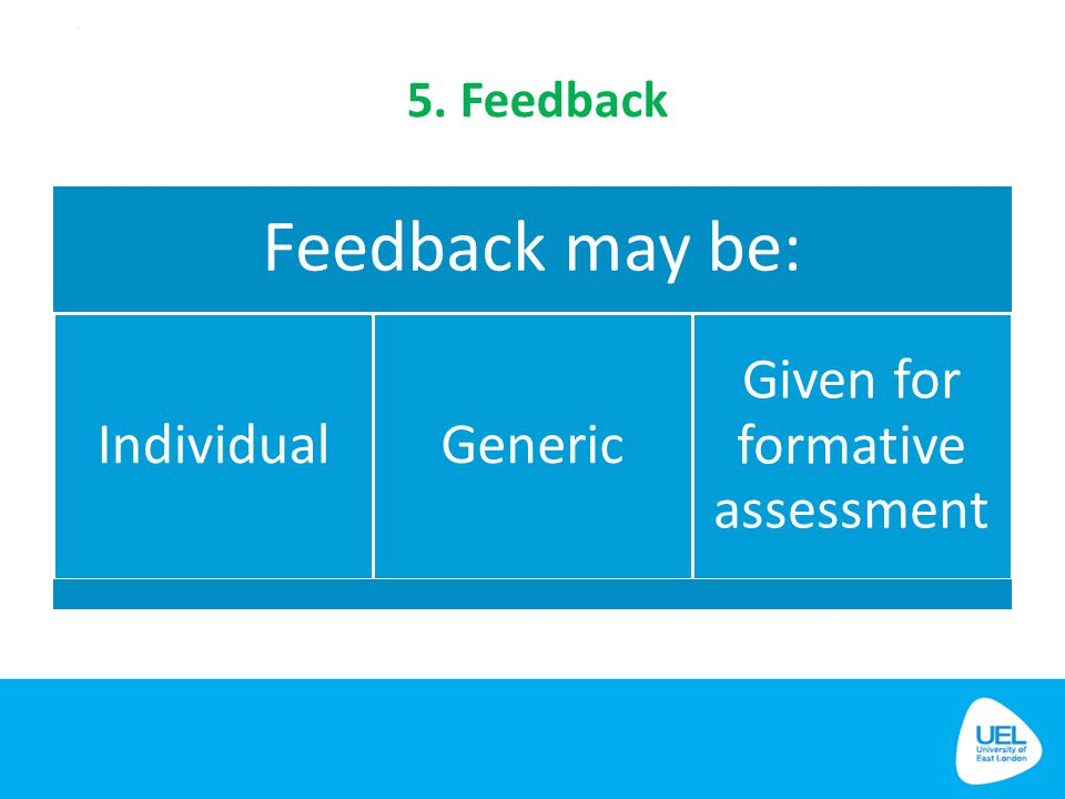 Given for formative assessment