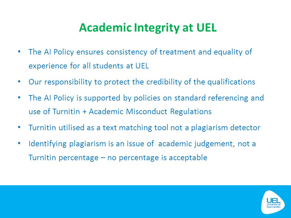 Academic Integrity at UEL