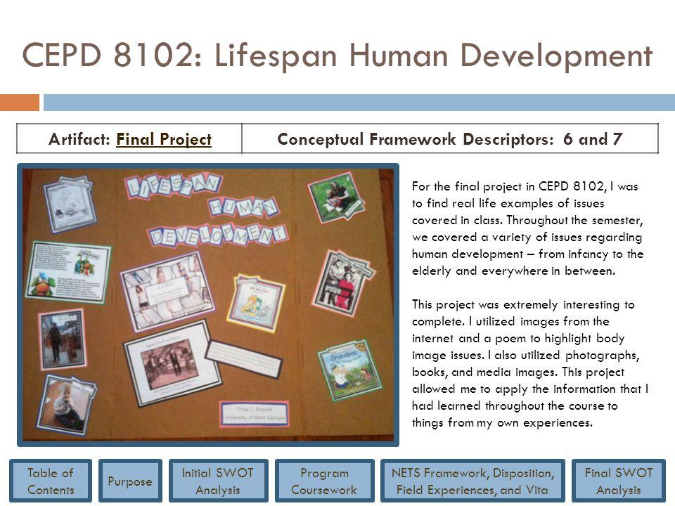 CEPD 8102: Lifespan Human Development