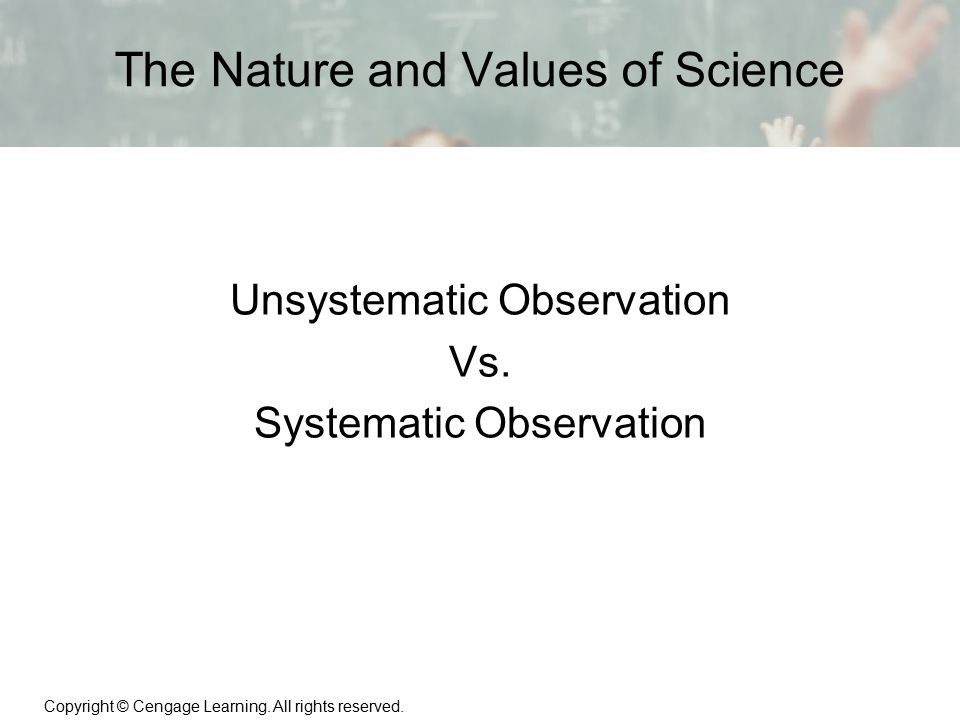 The Nature and Values of Science