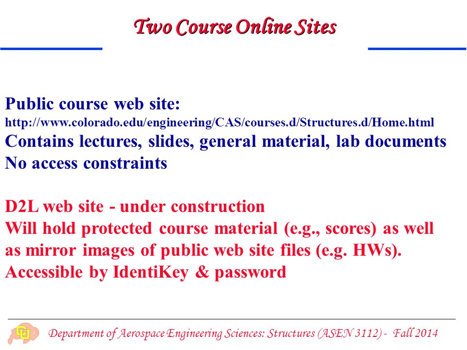 Two Course Online Sites