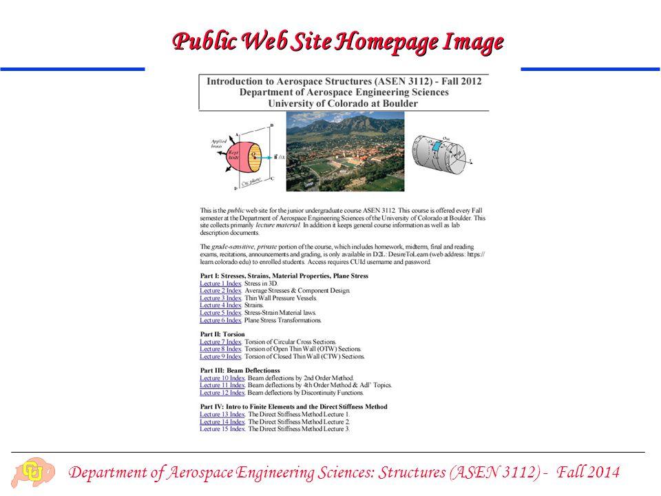 Public Web Site Homepage Image