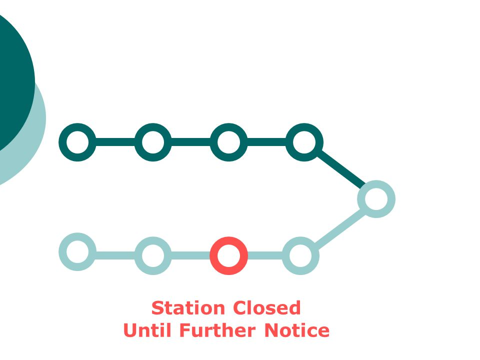 Station Closed Until Further Notice
