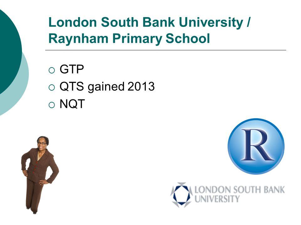 London South Bank University / Raynham Primary School