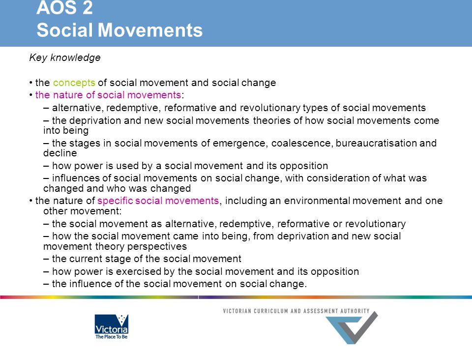 AOS 2 Social Movements