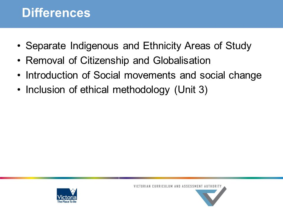 Differences Separate Indigenous and Ethnicity Areas of Study