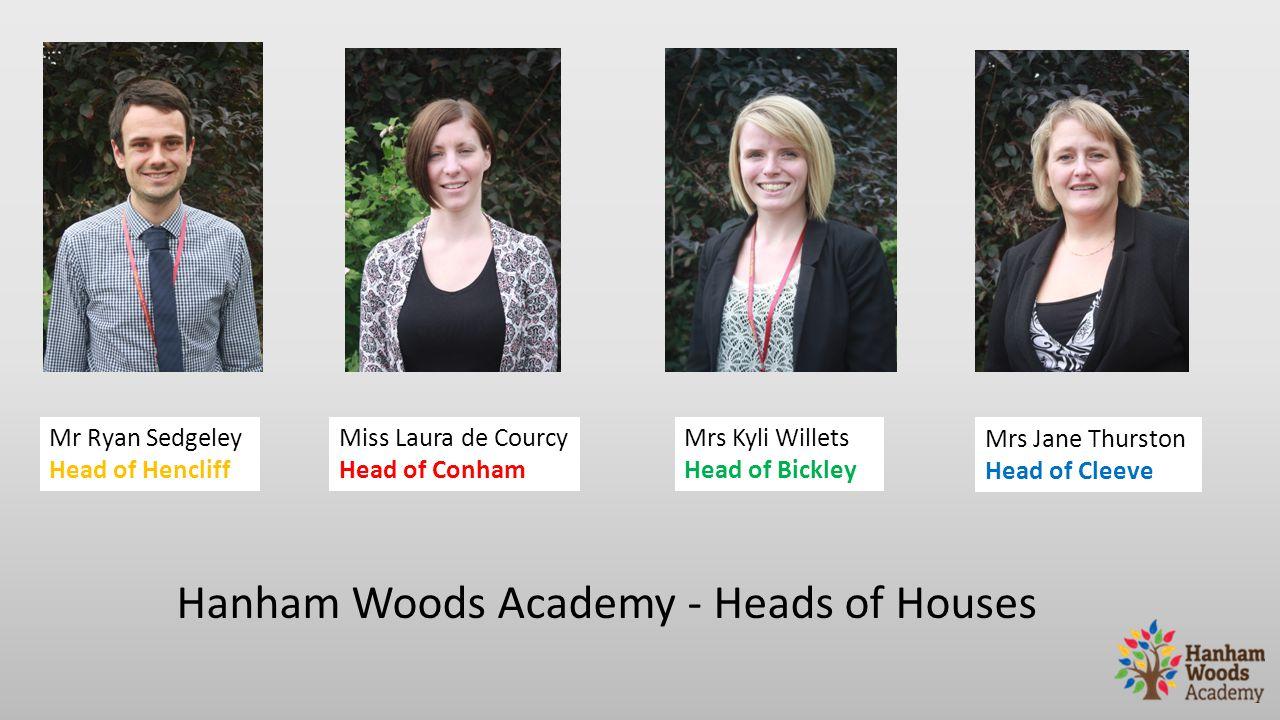 Hanham Woods Academy - Heads of Houses