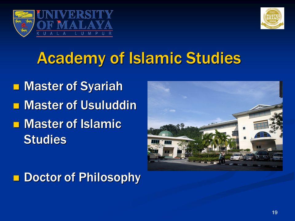 Academy of Islamic Studies